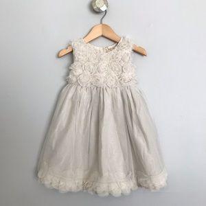 RUUM Cream Tulle Dress 💕 Size 3T Girls
